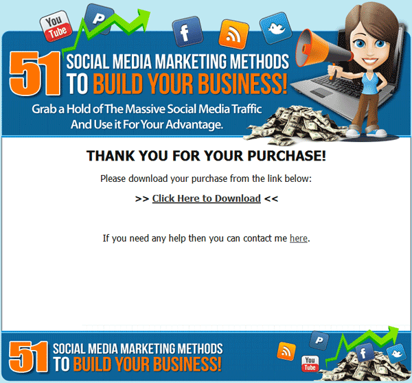 social media marketing methods ebook