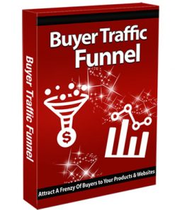 buyer traffic sales funnel plr videos