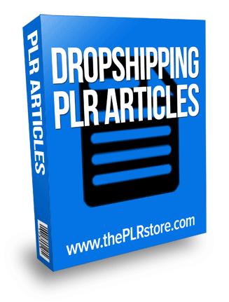 dropshipping plr articles