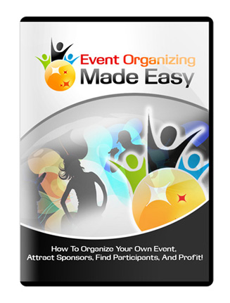 event organizing made easy videos event organizing made easy videos Event Organizing Made Easy Videos with Master Resale Rights event organizing made easy videos