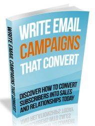 write email campaigns that convert plr ebook write email campaigns that convert plr ebook Write Email Campaigns That Convert PLR Ebook write email campaigns that convert plr ebook 190x250