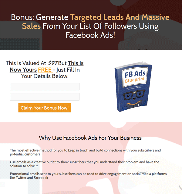 Facebook ads blueprint ebook with master resale rights facebook ads blueprint ebook malvernweather Images