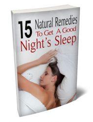 natural sleep remedies plr report