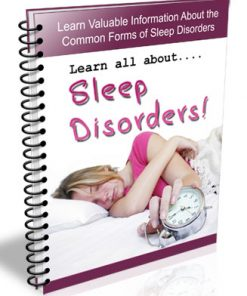 sleep disorders plr autoresponder messages