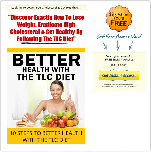 tlc diet transformation ebook and videos