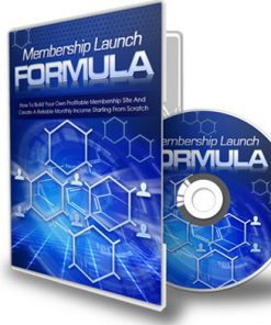 membership site launch formula plr videos