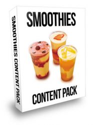 smoothies plr content pack