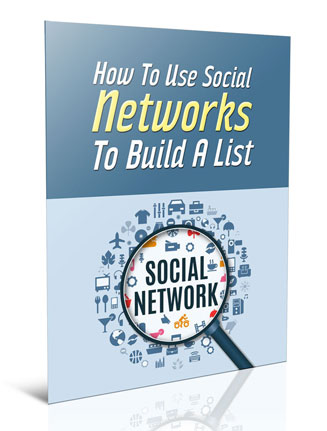 using social media to build email list plr report