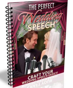 wedding speeches plr report