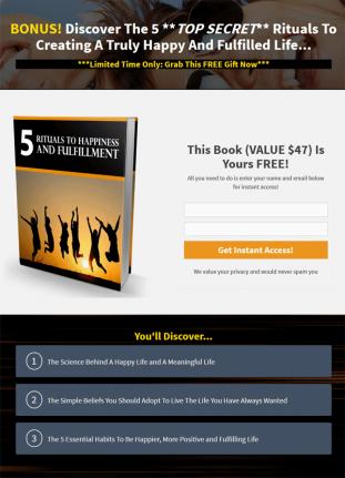 success rituals ebook and videos