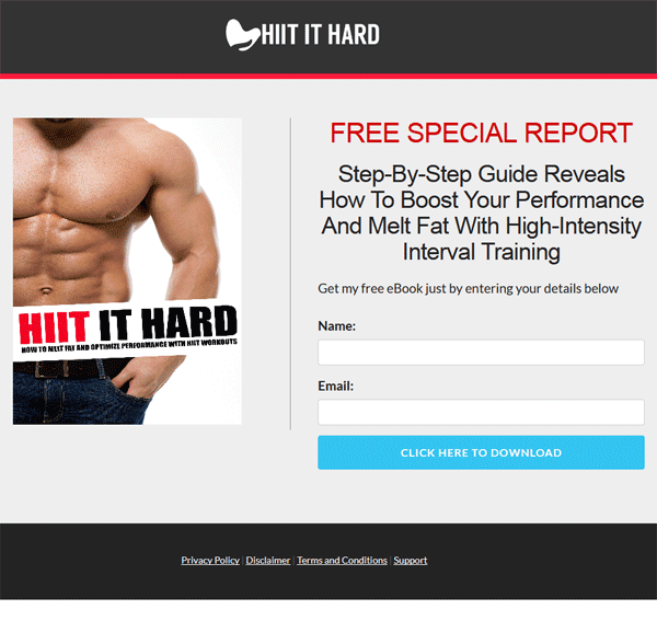 hiit workouts ebook and videos