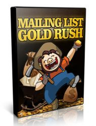 mailing list gold rush plr videos