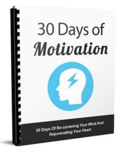 30 days of motivation report