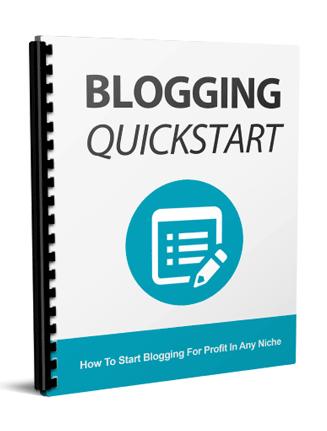 blogging quick start report