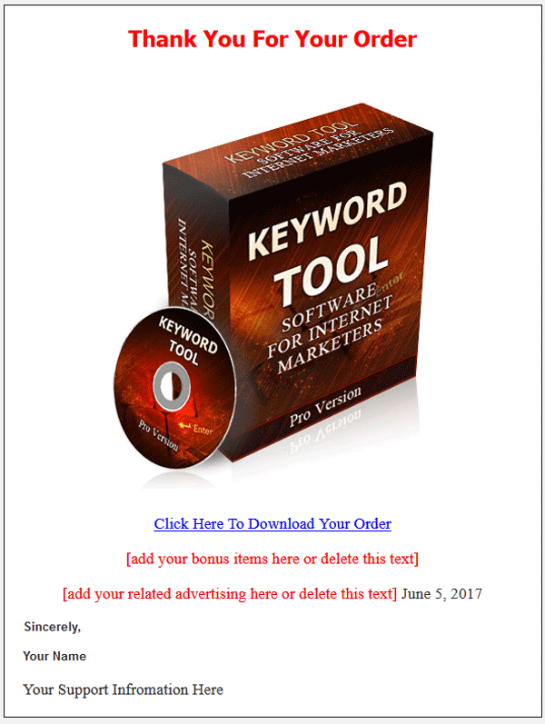 Keyword Tool PLR Software With Private Label Rights