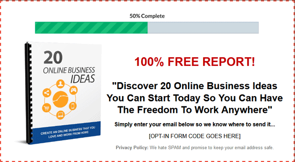 Business and Finance products with resell rIghts