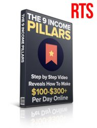 9 income pillars plr videos ready to sell