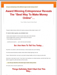best way to make money online plr videos