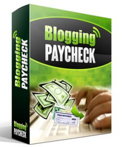 blogging paycheck plr videos