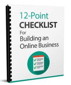 online business checklist report
