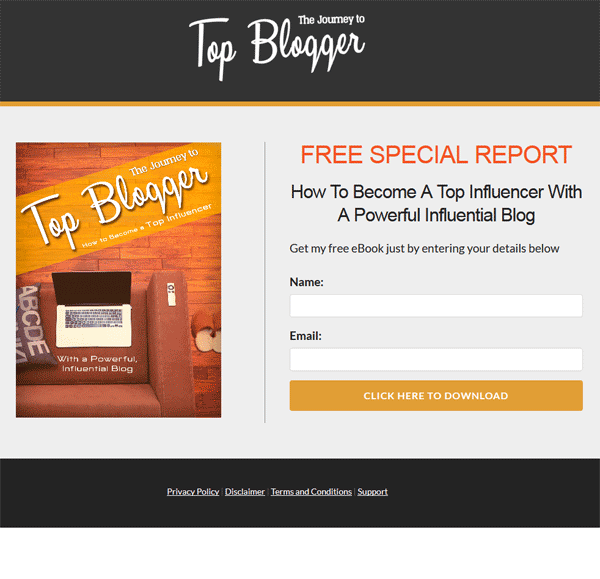 top blogger ebook and videos