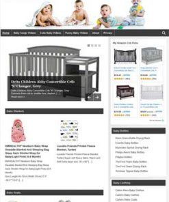 Baby PLR Amazon Store Website