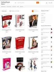 dating ecommerce plr store website