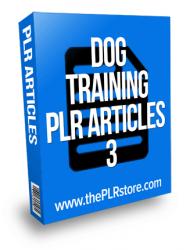 dog training plr articles dog training plr articles Dog Training PLR Articles 3 dog training plr articles 3 190x250