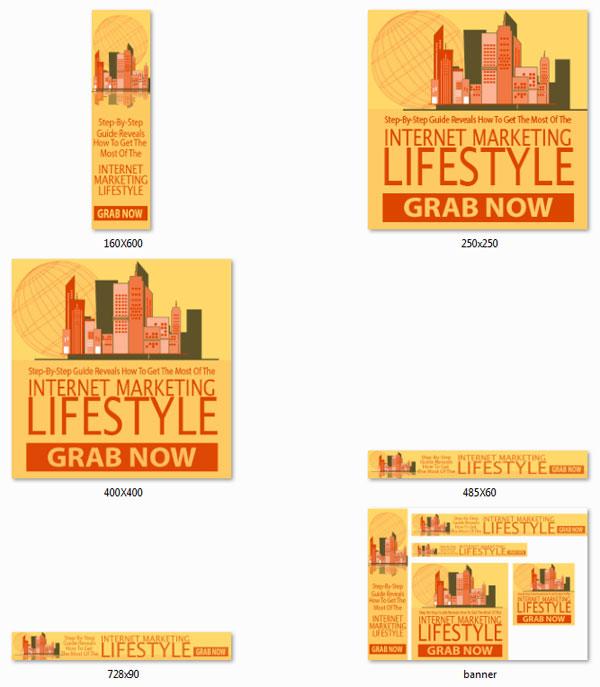 internet marketing lifestyle ebook and videos