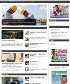 job hunting plr website