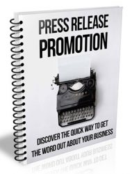 press release promotion plr report press release promotion plr report Press Release Promotion PLR Report press release promotion plr report 190x250