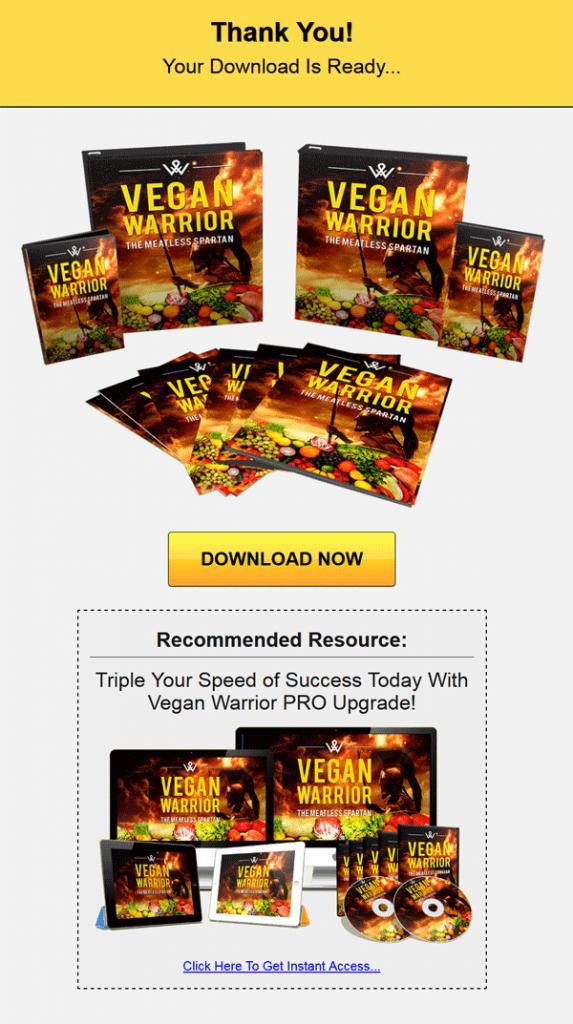 vegan fitness ebook and videos