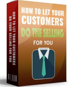 let your customers do your selling ebook mrr