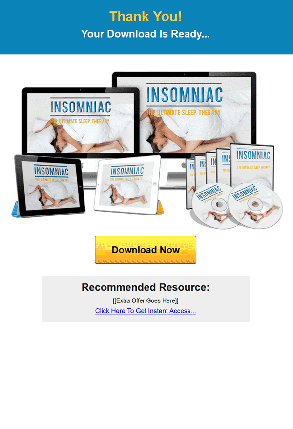 sleep therapy ebook and videos