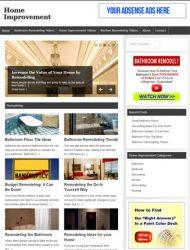 home improvement plr website