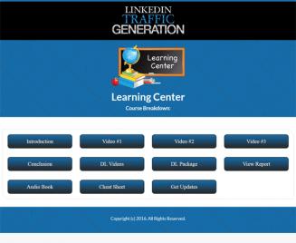 linkedin traffic lead generation report and videos