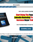 linkedin-traffic-lead-generation-report-and-videos-squeeze-page
