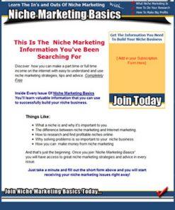 niche marketing plr autoresponder messages