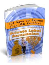 private label persuasion plr report
