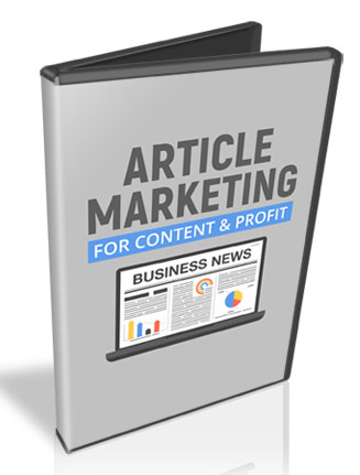article marketing for content and profit audios