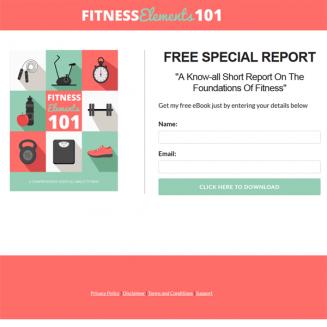 fitness plr report