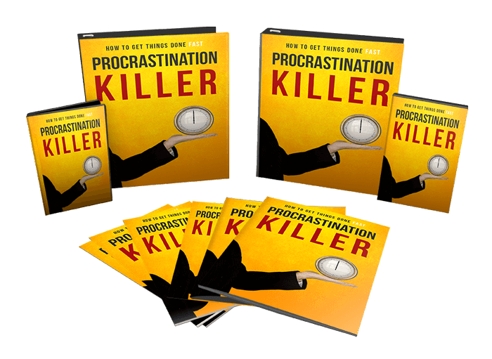 procrastination killer ebook and videos