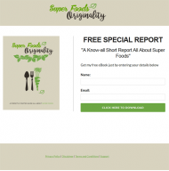 Superfoods PLR Report