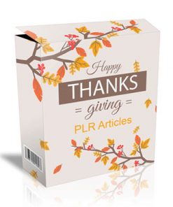 thanksgiving plr articles 2