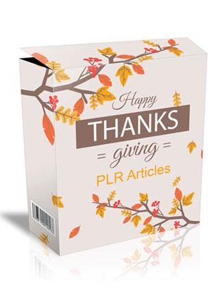 thanksgiving plr articles 2