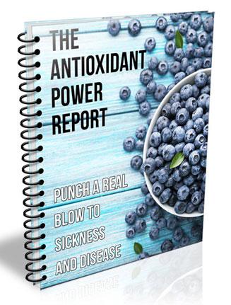 antioxidant power plr report