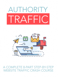 authority website traffic ebook and videos  Authority Website Traffic Ebook and Videos MRR authority website traffic ebook and videos mrr 190x250