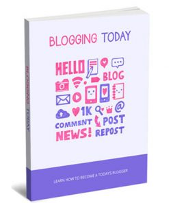 blogging today plr report