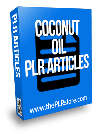 coconut oil plr articles