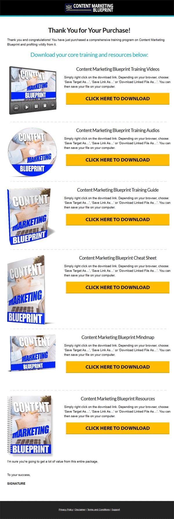 Content Marketing Blueprint Ebook and Videos MRR
